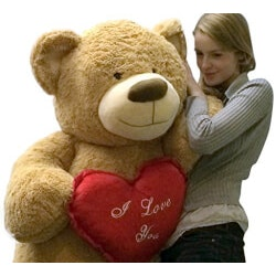 Valentines Day Gifts for 14 Year Old:Giant Teddy Bear