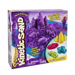 Gifts Under $50:Kinetic Sand (Sandbox & Molds Activity Set)