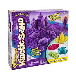 Gifts for 10 Year Old Boys:Kinetic Sand (Sandbox & Molds Activity Set)
