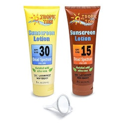 Hidden Sunscreen Alcohol Flask