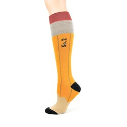 Womens Pencil Knee High Socks