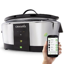 Unique Valentines Day Gifts for Girlfriend:Wifi-Enabled Smart Crock-Pot