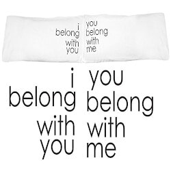 Stocking Stuffers (Under $50):Belong Together Pillowcases