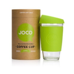 Birthday Gifts for Brother Under $50:Glass Reusable Coffee Cup