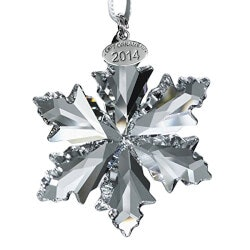 Christmas Gifts for Mom Under $100:Swarovski Annual Crystal Snowflake