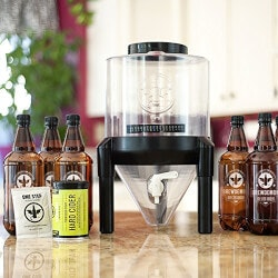 Beer Gifts for Boyfriend (Under $100):BrewDemon Hard Cider Kit Plus