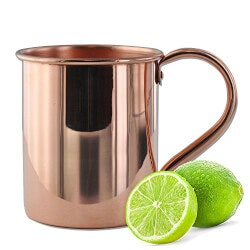 Birthday Gifts for Husband Under $25:Solid Copper Moscow Mule Mug