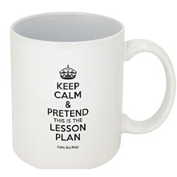 Gifts for Teachers:Pretend Its On The Lesson Plan Mug
