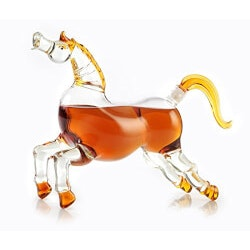 Unusual Gifts for Boyfriend (Under $100):Horse Shaped Liquor Dispenser