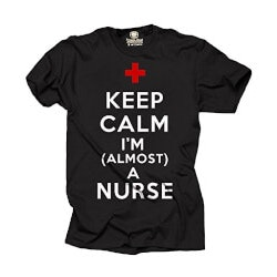 Gifts for Women Under $25:Im Almost A Nurse T-Shirt