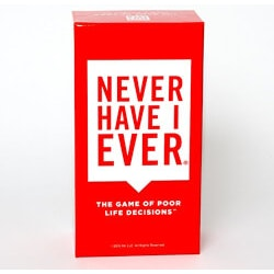 Funny Christmas Gifts for Women:Never Have I Ever