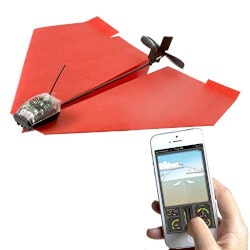 Gifts for 16 Year Old Son:Smartphone Controlled Paper Airplane