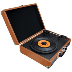 Unusual Graduation Gifts:Bluetooth Vintage Style Record Player..