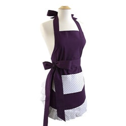 Romantic Gifts:Flirty Aprons Original Paris Plum Apron