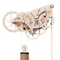 Gadget Gifts:Abong Wooden Clock Kit