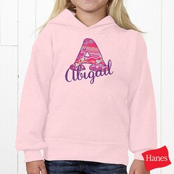 Unique Gifts for 3 Year Old:Personalized Kids Sweatshirt For Girls - Her..