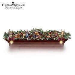 Thomas Kinkade Illuminated Nativity Story..