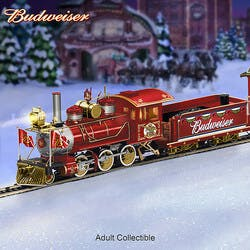 Budweiser Holiday Express Illuminated..