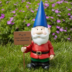 Gardening Gifts:Personalized Garden Gnomes