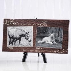 Unique Gifts:Personalized Canvas Prints - Pet Photos -..