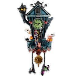 Tim Burtons Christmas Wall Clock