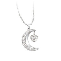 Personalized Jewelry Christmas Gifts for Women:Love You To The Moon And Back