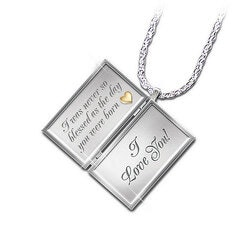 Dear Daughter Letter Pendant