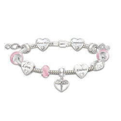 Nurse Charm Bracelet With 11 Charms And..