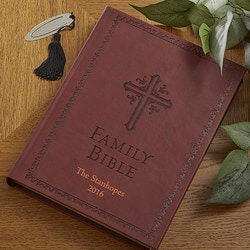 Christmas Gifts for Mom Under $50:Personalized Family Bible