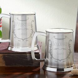 40th Birthday Gifts for Friends:Personalized Beer Tankard
