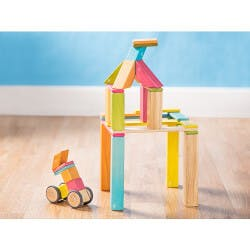 Tegu: 42 Piece Magnetic Wooden Block Set