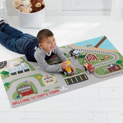 Gifts Under $50:Transportation Village Kids Personalized..