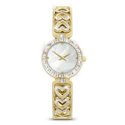 Love Always Diamond Heart Watch With Engraving
