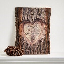 Anniversary Gifts for Girlfriend:Personalized Romantic Wall Plaque