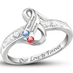 Anniversary Gifts for Girlfriend:Infinite Love Personalized Couples..