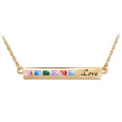 Personalized Jewelry Christmas Gifts:A Mothers Love Personalized Family..
