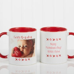 Personalized Gifts (Under $10):Personalized Photo Coffee Mugs - Loving You..