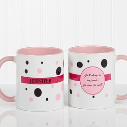 Personalized Womens Coffee Mugs - Sweet &..