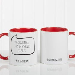 Personalized Social Media Coffee Mug -..