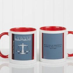 Personalized Gifts (Under $10):Personalized Lawyer Coffee Mugs - Legal..