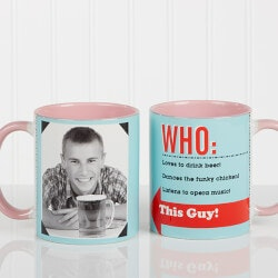 Personalized Gifts (Under $10):Photo Personalized Coffee Mugs