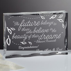 High School Graduation Gifts:Personalized Keepsake - Inspiration For Her