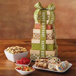 70th Birthday Gifts Under $50:Birthday Tower Of Sweets