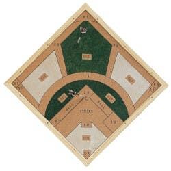 Baseball Dartboard