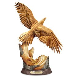 Rising Majesty Eagle Sculpture With..