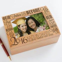 Personalized Photo Keepsake Box - Graduation..