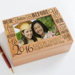Gifts for Boys:Personalized Photo Keepsake Box - Graduation..