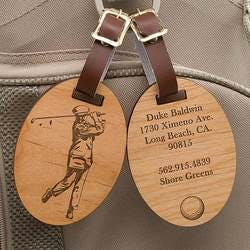 Personalized Golf Bag Tags