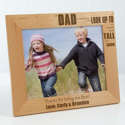 Photography Gifts:Personalized Picture Frame - Special Dad -..