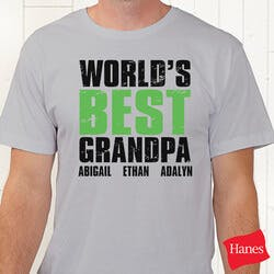 Personalized Grandpa T-Shirts - Grand Dude